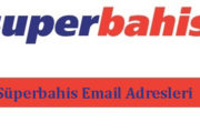 Süperbahis Email Adresleri